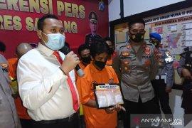Polres Sampang gagalkan pengiriman sabu-sabu senilai Rp450 juta ke Bali