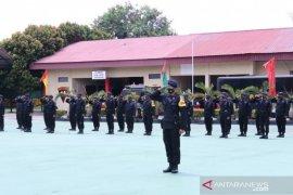 100 personel Brimob Sumsel bantu pengamanan pilkada di Jambi