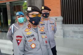 Kapolda Bali dan sejumlah pejabat di Polda Bali dimutasi
