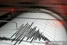 Gempa bumi tektoknik bermagnitudo 5,2 terjadi di Sulawesi Utara
