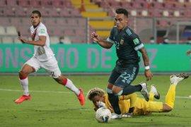 Kualifikasi Piala Dunia - Argentina kalahkan Peru 2-0