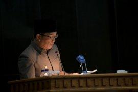 Gubernur Jabar sampaikan jawaban pandangan umum fraksi terhadap APBD 2021