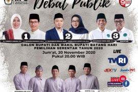 Debat kandidat, hanya 25 orang di dalam gedung