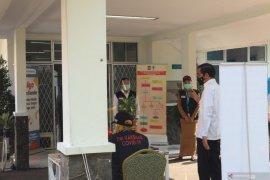 Presiden Jokowi tinjau simulasi imunisasi vaksin COVID-19 di Kota Bogor