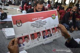 Pelipatan surat suara Pilkada Kabupaten Tasikmalaya