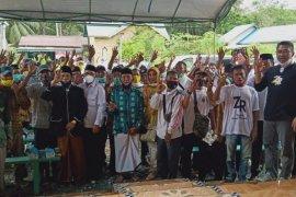 Kampanye di Kecamatan Karang Bintang, M Rusli ajak masyarakat coblos nomer 3
