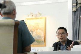 Gubernur Ridwan Kamil sebut Wantannas proyeksikan Jabar contoh penanganan COVID-19