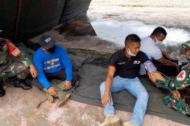 Prajurit TNI dilatih penanggulangaj bencana