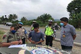 Polres Tapanuli Selatan operasi yustisia protokol kesehatan,105 terjaring