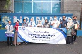 Darmajaya dukung penggunaan bahasa Indonesia yang baik dan benar
