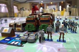 """Polda Gorontalo gelar """"Tactical Floor Game"""" untuk pengamanan pilkada"""