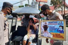 Polres Gorontalo Kota razia masker tegakkan prokes
