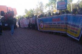 Ratusan petani desak Bupati Aceh Utara batalkan perpanjangan izin eks HGU PT Blang Ara Company