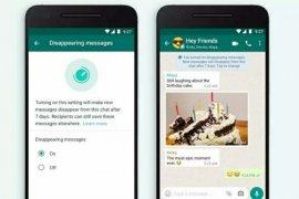 Cara aktifkan fitur pesan menghilang otomatis  di WhatsApp