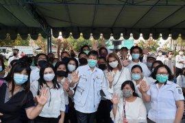 Wali Kota Manado Lantik Satgas COVID-19 Kecamatan