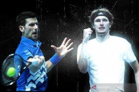 Djokovic dan  Zverev berebut tiket semifinal ATP Finals