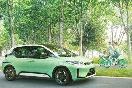 BYD dan Didi China luncurkan D1, mobil listrik untuk taksi online