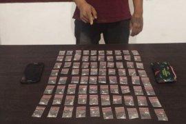 Pengedar narkoba ditangkap di perkebunan sayur, miliki 80 bungkus sabu