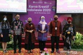 Melati Erzaldi hadiri pembukaan KKI 2020 dukung UMKM Indonesia
