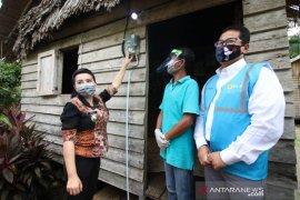400 rumah tangga di Kabupaten Landak dapat bantuan sambungan listrik gratis