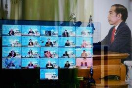 Presiden Jokowi sampaikan tiga hal dalam KTT APEC 2020
