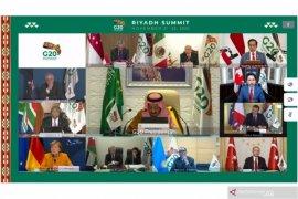 Raja Salman membuka KTT G20, soroti penyelamatan nyawa dan ekonomi
