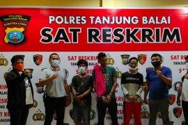 Polres Tanjung Balai ringkus pencuri sepeda motor nelayan