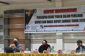 KPU Sambas siap gelar debat publik Pilkada dengan ketat terapkan prokes