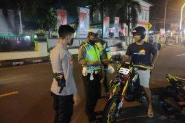 Polres Kota Ternate sita motor gunakan knalpot racing