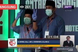 Paslon Satono dan Fahrur janji tekan kasus narkotika di Kabupaten Sambas