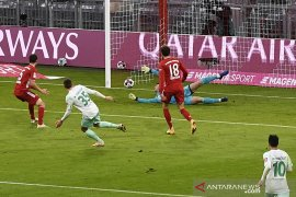Liga Jerman - Bremen tahan Bayern Munich 1-1