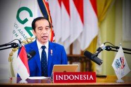 Presiden Jokowi sebut perlu transformasi besar pascapandemi di KTT G20