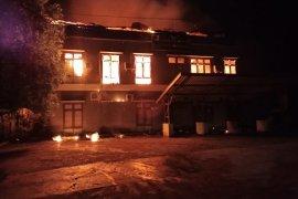 Polisi selidiki terbakarnya kantor Dispenda Kabupaten Jayapura
