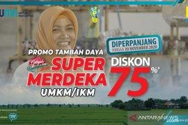 "7.594 UMKM di Jatim ikuti program diskon tambah daya ""Super Merdeka"" PLN"
