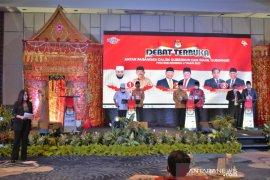 KPU kembali gelar debat pasangan calon Pilgub Bengkulu