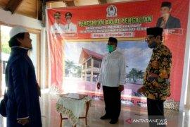 Hari ini, Bupati Ramli MS resmikan balai pengajian bantuan masyarakat dan ASN Aceh Barat di Kota Palu