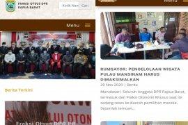 Fraksi Otsus DPR Papua Barat luncurkan website