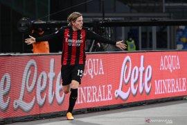 Liga Italia - Milan rebut kembali posisi puncak klasemen dari Sassuolo