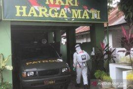 Brimob Polda Sumut sterilisasi kantor koramil di Medan