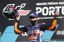 Kemenangan di kampung halamannya terasa spesial bagi Oliveira