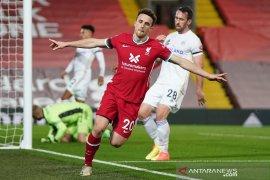 Liga Inggris - Kalahkan Liecester, dua rekor Liverpool pecah