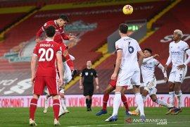 Liga Inggris, Liverpool tanduk Leicester lewat tiga gol sundulan