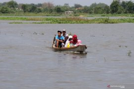 Khofifah: Waspadai cuaca ekstrem picu bencana hidrometeorologi