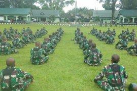 Ratusan Tamtama TNI AD ikuti pendidikan di Rindam I/BB