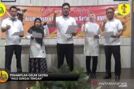 Lima tahun berturut-turut, HST borong piala cipta puisi di ajang Aruh Sastra