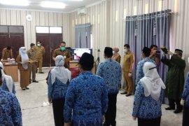 648 PNS Aceh Timur disumpah ditengah COVID-19