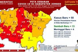 Di Jember, 15 kecamatan zona merah penyebaran COVID-19