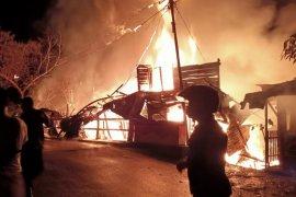 Kebakaran hanguskan lima bangunan di Kota Langsa, begini kejadiannya