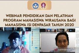PMW mantapkan jiwa kewirausahaan mahasiswa ISI Denpasar