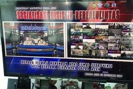 5.137 pelajar di Aceh ikuti sosialisasi lalu lintas secara virtual